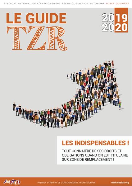 Guide TZR 2019-2020
