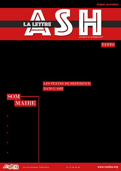 Lettre ASH n°6