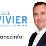 Le SNETAA en direct sur France Info