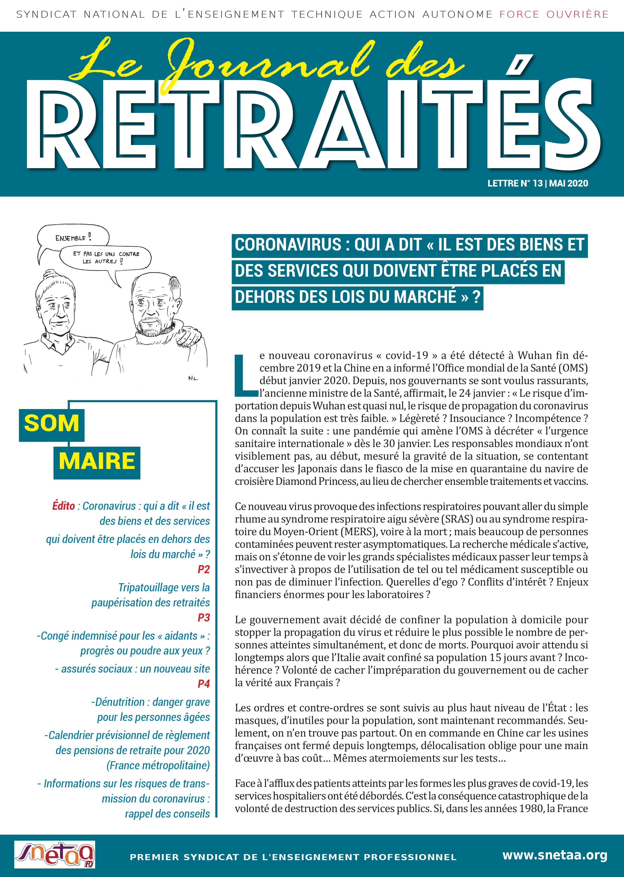 Journal des retraités n°13