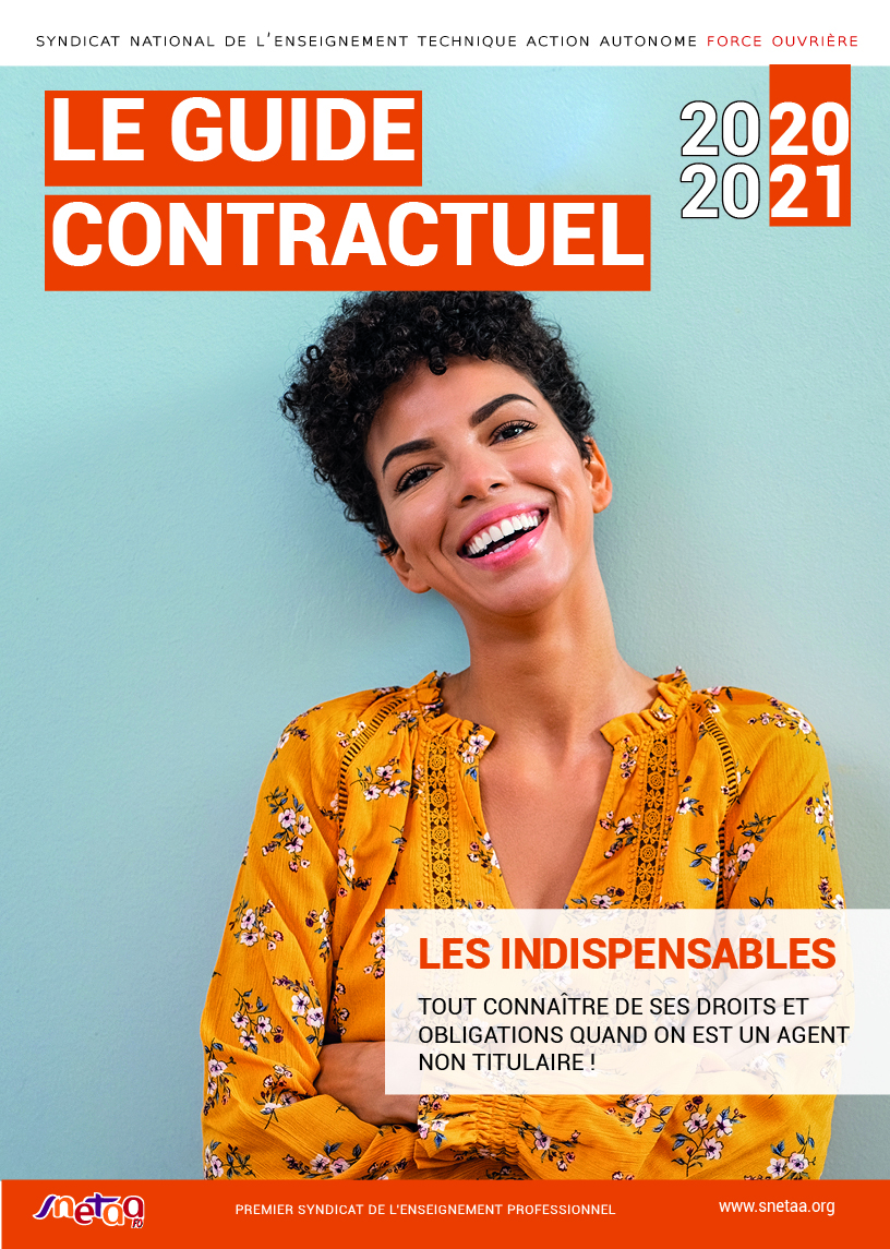 Guide Contractuels 2020-2021